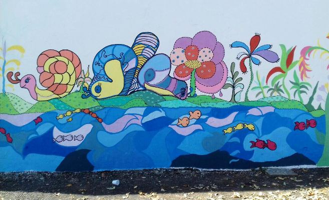 pintura muro