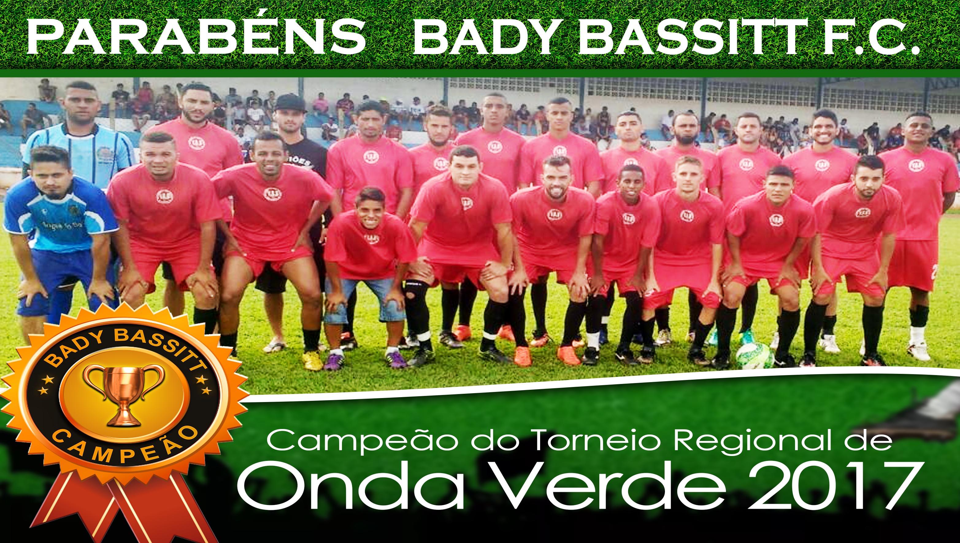 Bady Bassitt F. C. Campeão em Onda Verde-SP