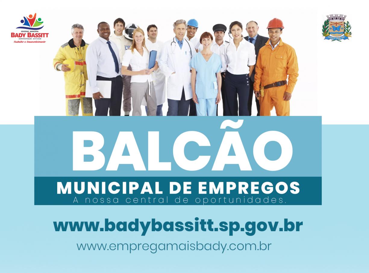 Oportunidade: Prefeitura lança 'Balcão de Empregos' em seu portal