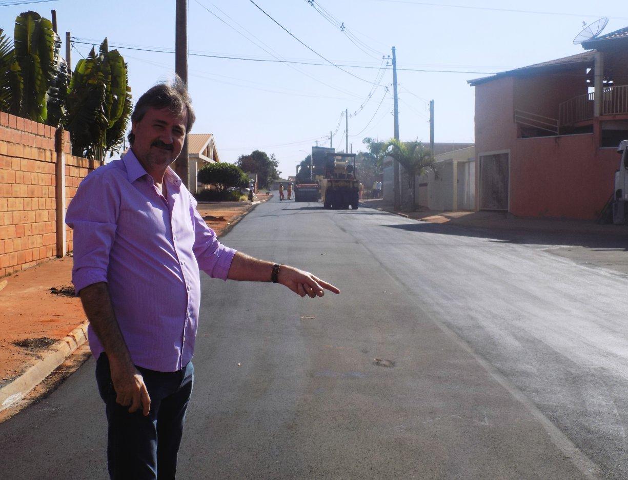 Muito aguardada, Prefeitura finaliza obra na 'Jesus Domingos Cândido'