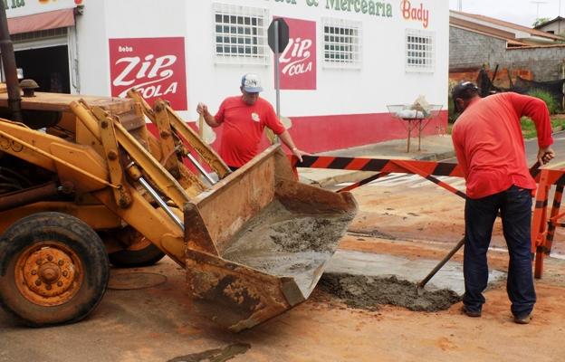 Obras para reparo de vazamento são concluídas no Estrela do Líbano