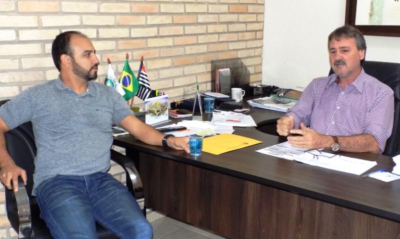 Secretário do Solidariedade visita  Prefeitura de Bady Bassitt