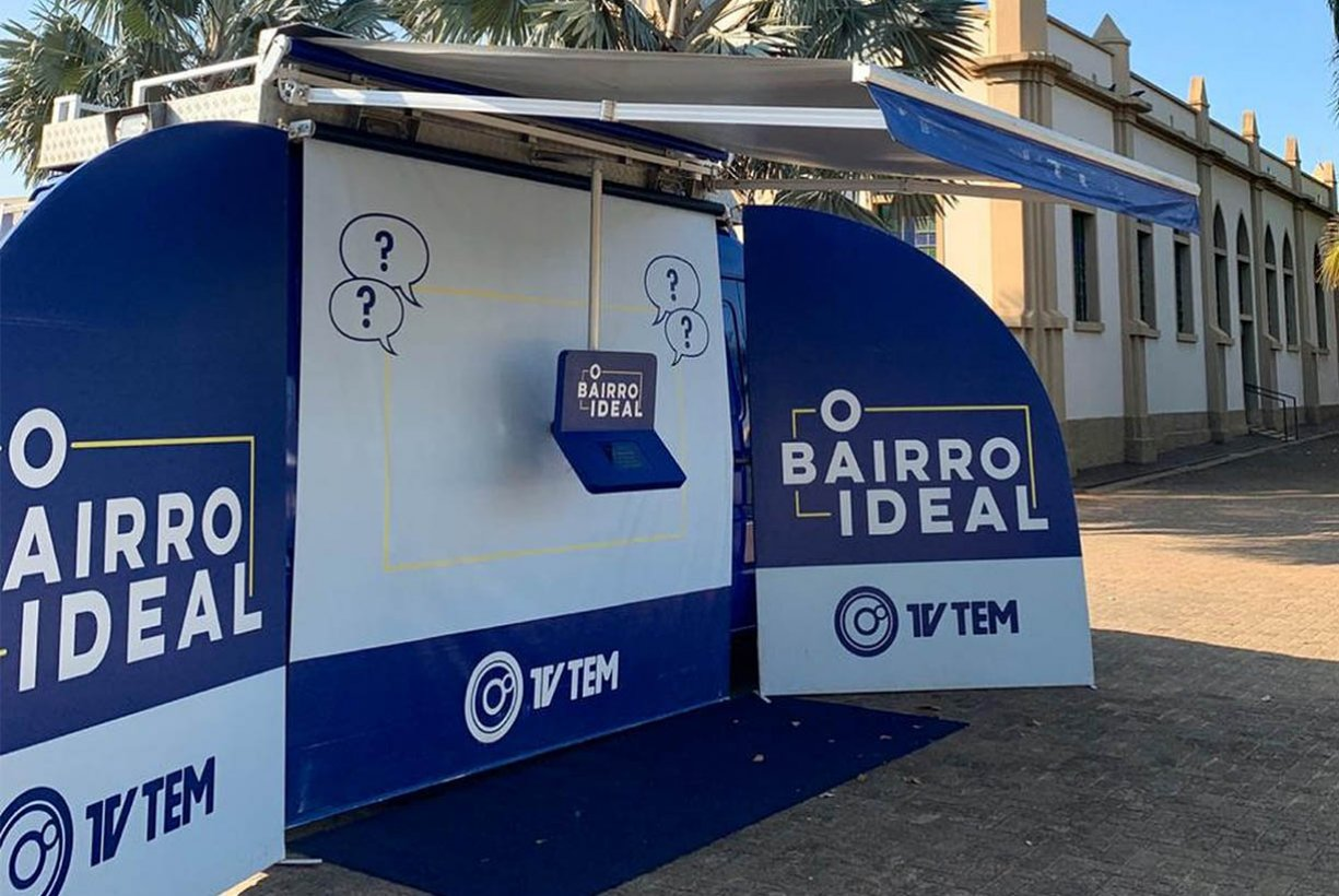 Bady Bassitt participa do programa Bairro Ideal, da TVTEM