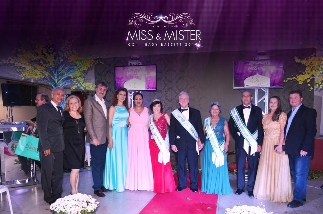 Em noite especial, Miss e Mister CCI são coroados em Bady