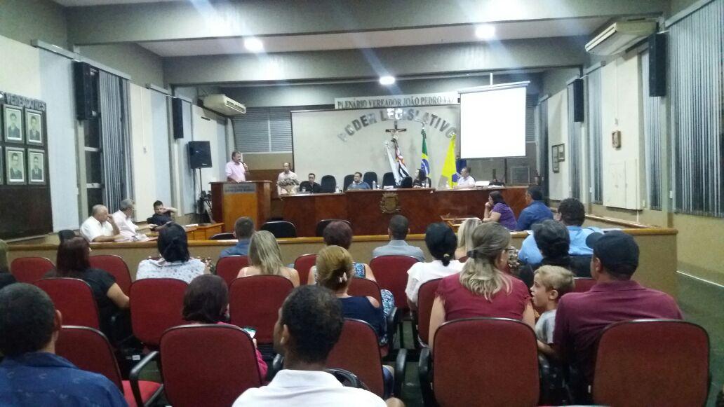 Audiência Pública - Plano Diretor de Turismo