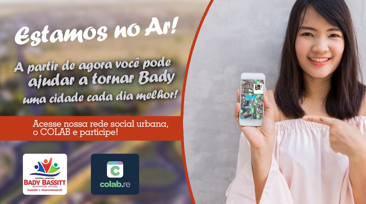 População de Bady agora pode fiscalizar através do celular