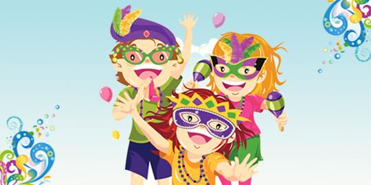 Matinês de Carnaval para as Crianças