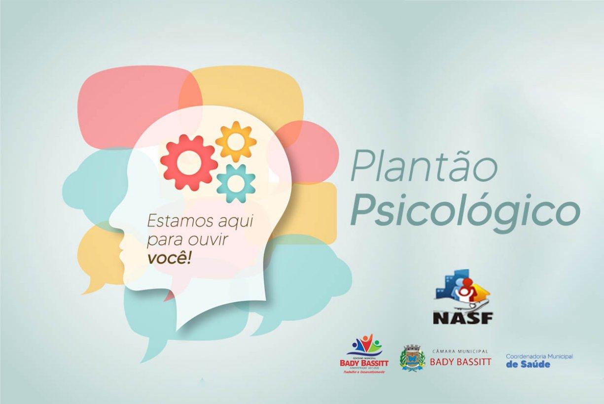 NASF lança Plantão Psicológico