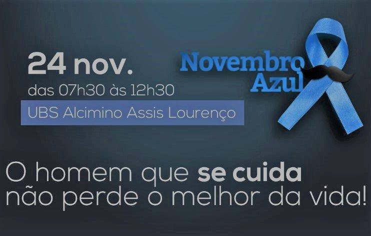 Novembro azul: Saúde tem campanha de conscientização para homens