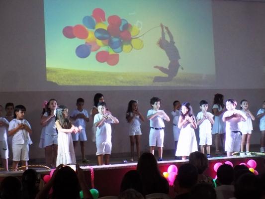 Encerramento ano letivo da escola Maria Inez