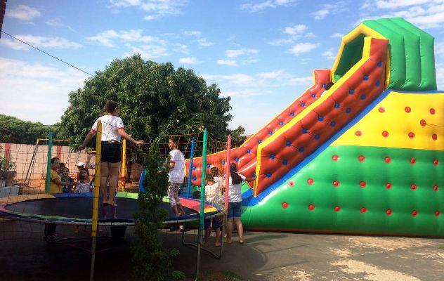 'Projeto Ciranda' comemora o Dia das Crianças com brincadeiras