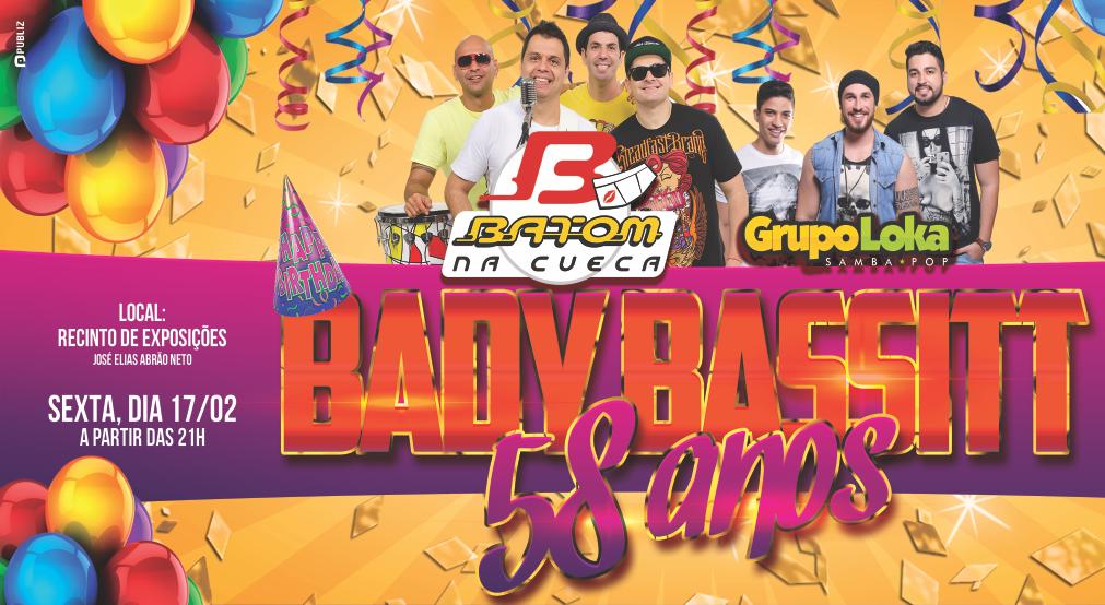 BADY BASSITT COMEMORA 58 ANOS COM FESTA PARA POPULAÇÃO.