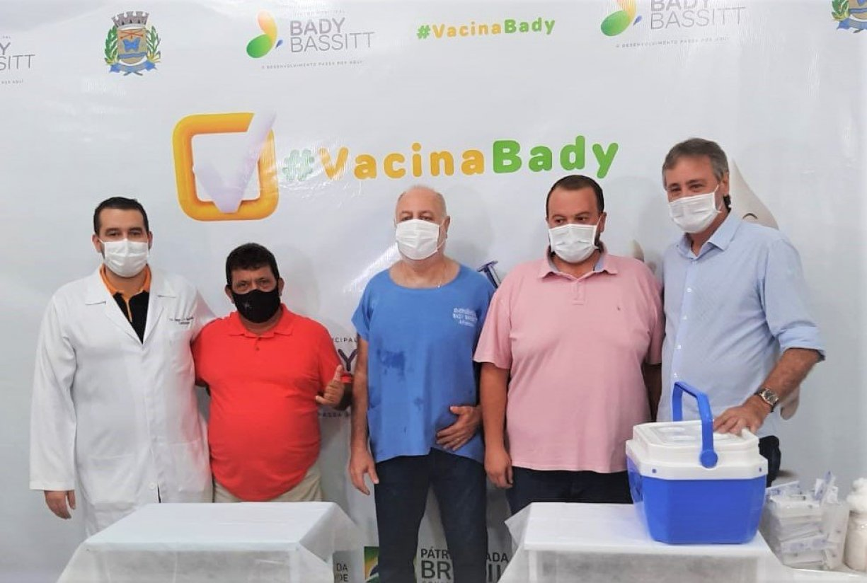 Bady Bassitt inicia campanha de vacinação contra Covid-19