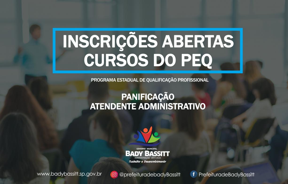 Prefeitura oferece cursos de qualificação remunerados para 60 pessoas