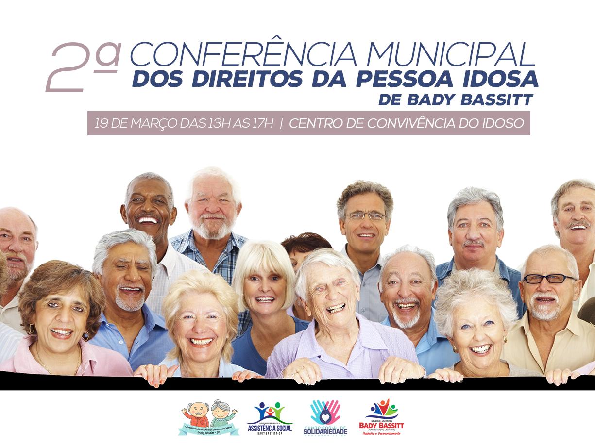 2ª Conferência Municipal do Idoso acontece nesta terça