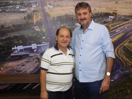 Deputado José Olimpio garante verba para infraestrutura de Bady