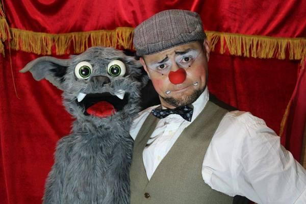 """Palhaço """"Fonso"""" apresenta a magia do circo em Bady, 1º de setembro"""