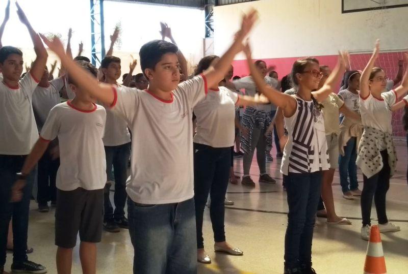 Bady realiza o projeto Agita Galera em combate ao sedentarismo