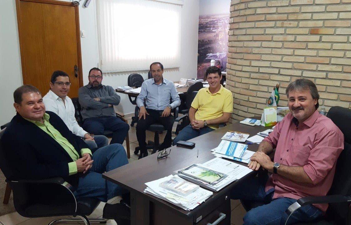 Diretores do Crefito 3 visitam Centro de Reabilitação de Bady