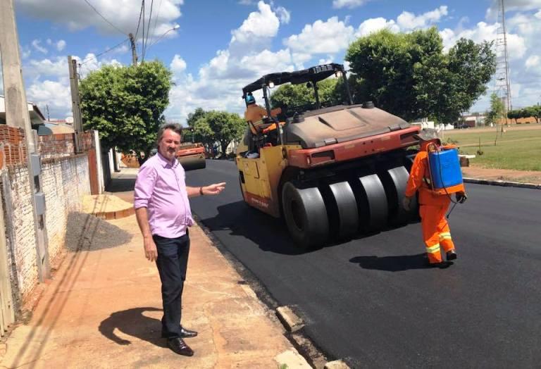 Prefeitura de Bady investe R$ 213 mil em novo recape