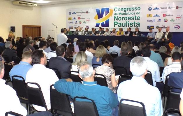 Prefeito de Bady Bassitt participa do 11º Congresso da AMA