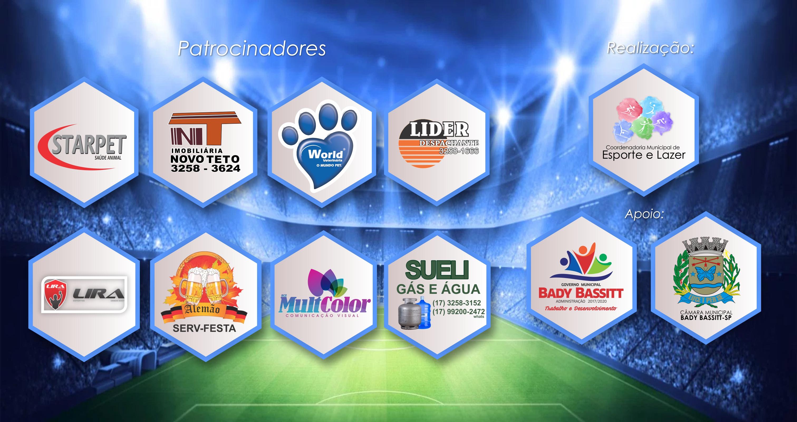 Regulamento Copa Bady Futebol Society 2017