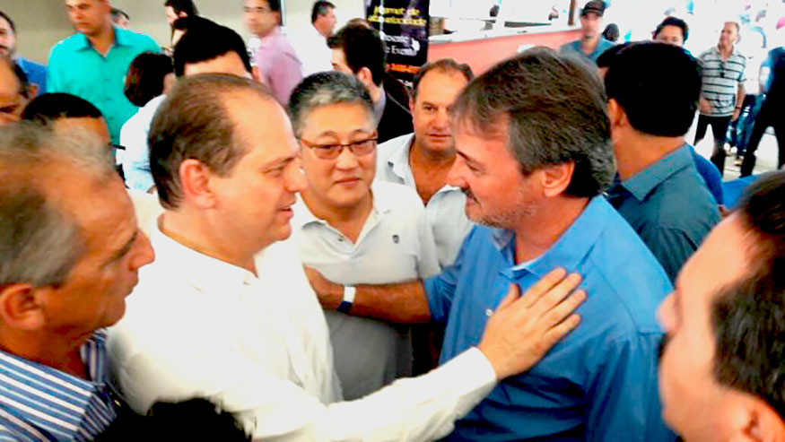 Ministro atende a pedido e confirma nova ambulância a Bady
