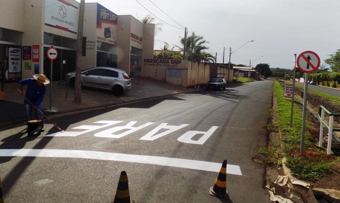 Trecho da avenida Borboleta passa a ter mão única de direção